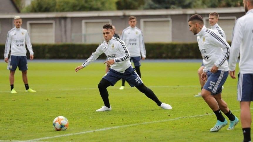 Argentina, sin Messi, se prueba ante Alemania en Dortmund