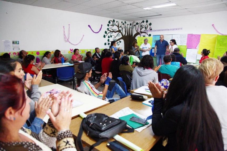 Nueva jornada de capacitaci�n del programa Hacemos Futuro en Quilmes