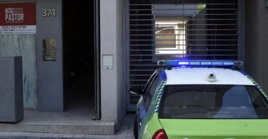 Una embarazada falleci� en La Plata al caer de un sexto piso