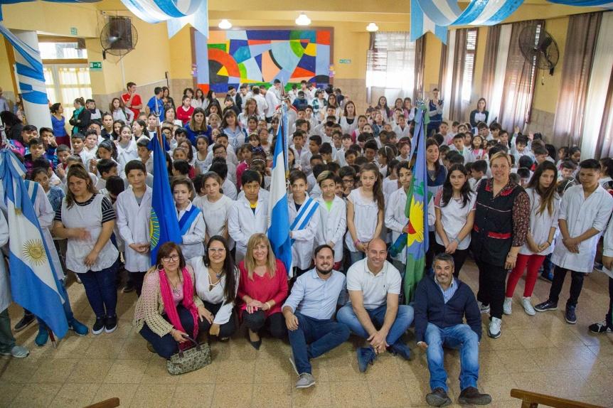 Martiniano Molina inaugur� obras de ampliaci�n y refacciones en la Primaria N� 18