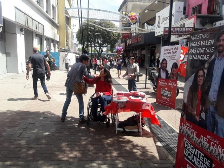 Carla Lacorte reclamó un debate de candidatos a intendente en Quilmes