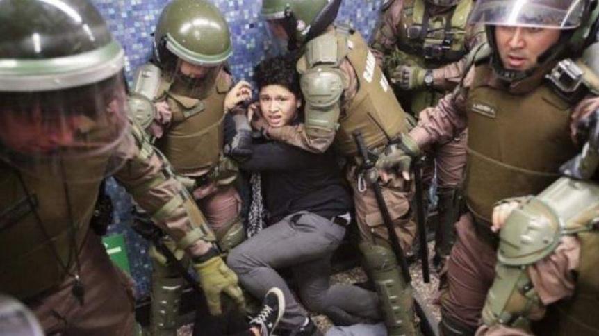 Crece la tensión en Chile con  un nuevo toque de queda