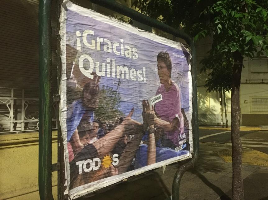 """""""Gracias"""": La ciudad amanece con el saludo de Mayra Mendoza"""