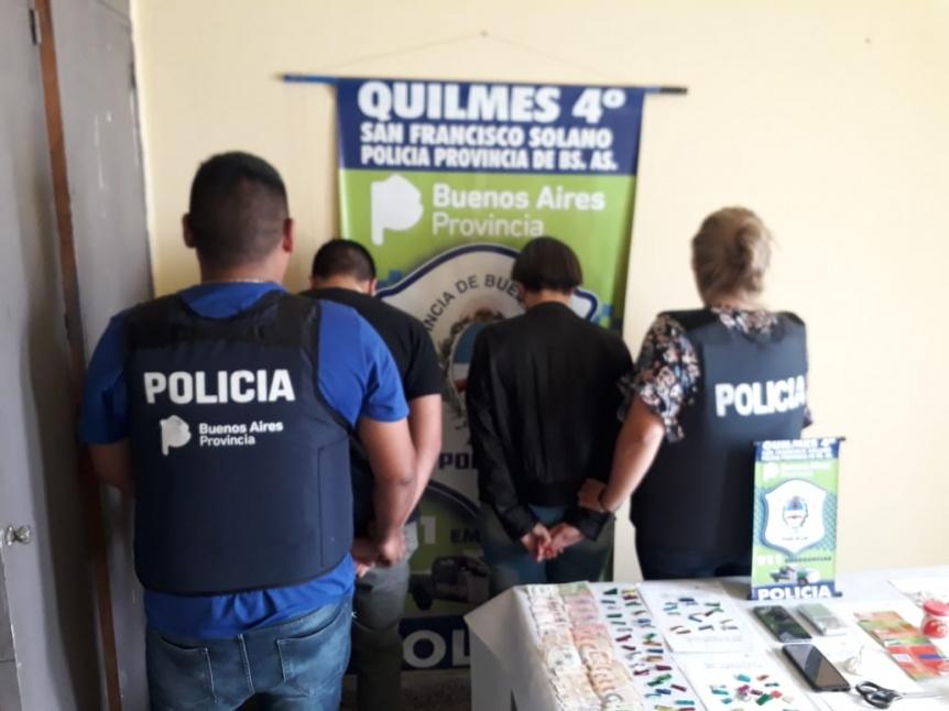 Dos j�venes detenidos por venta de estupefacientes en Solano
