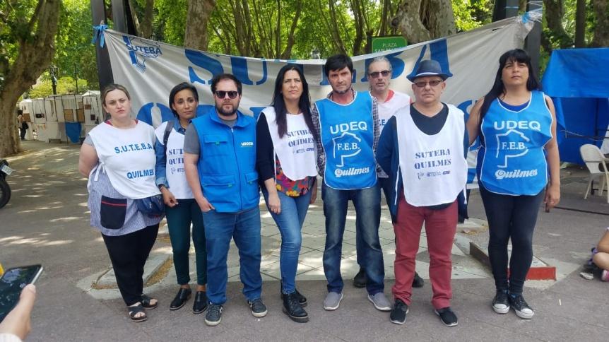 Paro docente en repudio de las represiones en Chubut ser�a del 75 por ciento