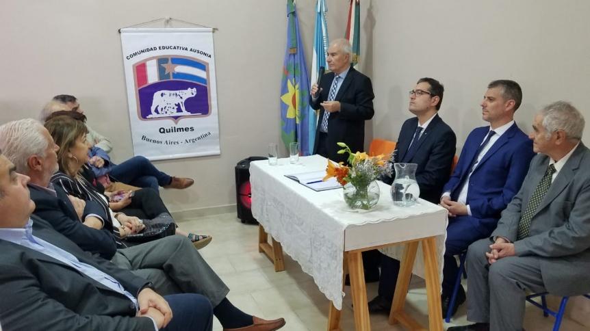 Inauguraron la Corresponsal�a del Consulado italiano en Quilmes