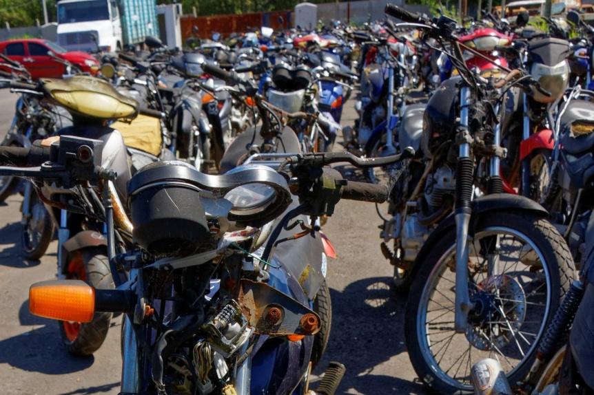 Berazategui: Ya exhiben las motos que ser�n rematadas el lunes 16