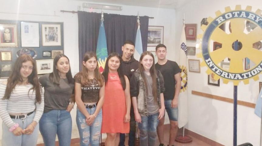 En Rotary Quilmes tambi�n participan los j�venes