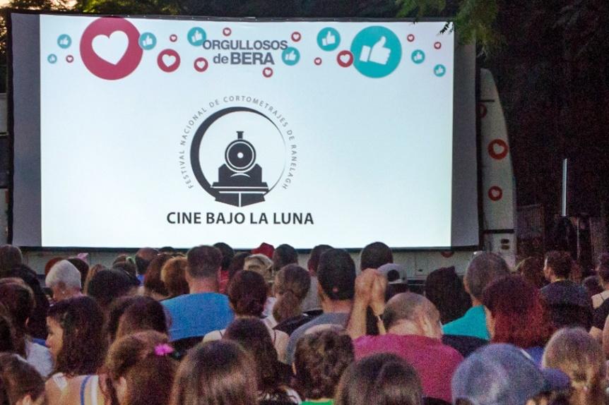 """Nueva edición del festival nacional """"Cine bajo la luna"""" de Berazategui"""