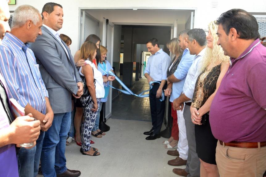 El intendente Watson inaugur� las nuevas instalaciones del Jard�n municipal N� 16