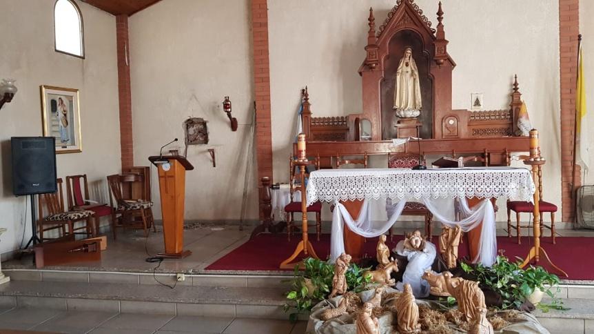 Saquearon una capilla en Quilmes y se llevaron las donaciones de los fieles