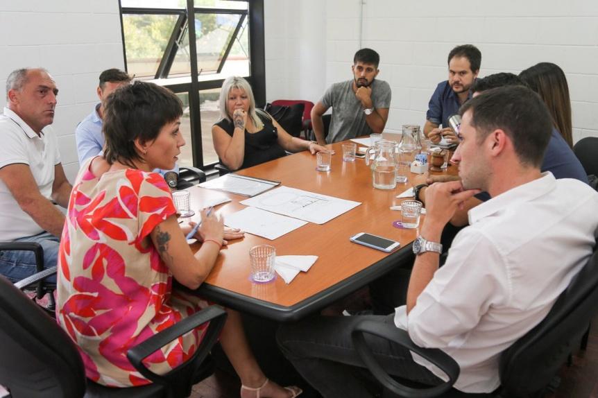 El Municipio de Quilmes articula políticas públicas con ANSES