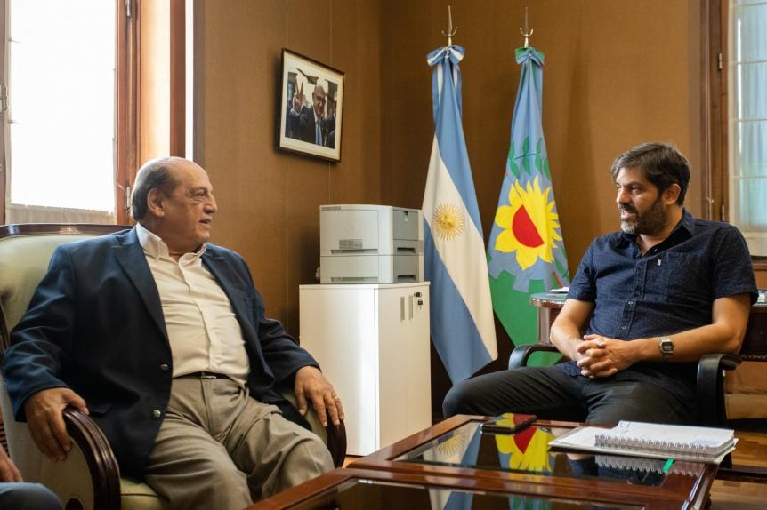 Mussi y Bianco dialogaron sobre la problem�tica medioambiental