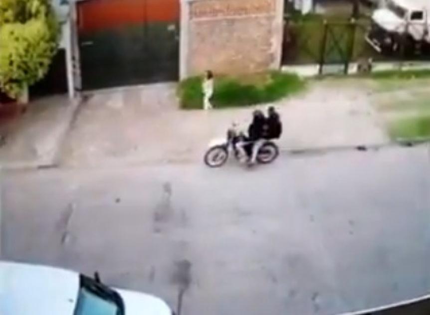 Nuevo ataque motochorro en Quilmes
