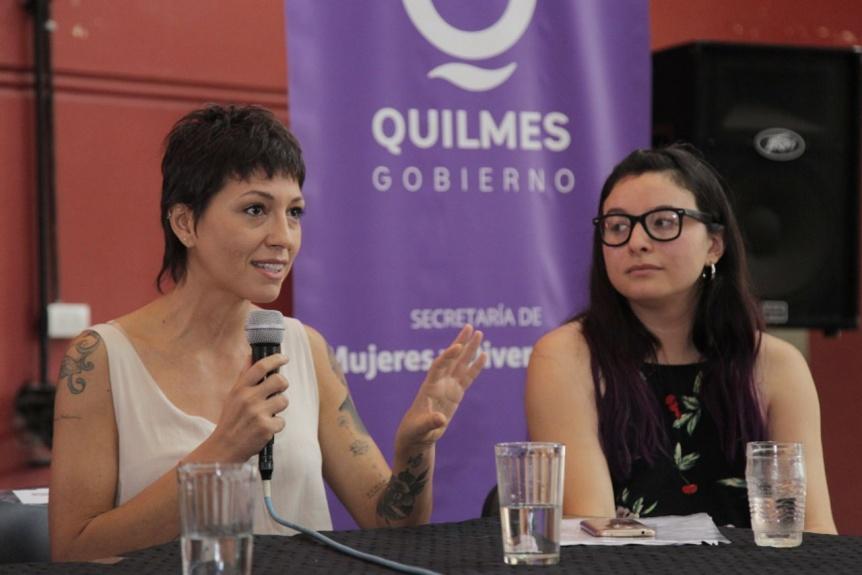 """Mayra Mendoza: """"Tenemos la tarea de formarnos y promover una atención igualitaria"""""""