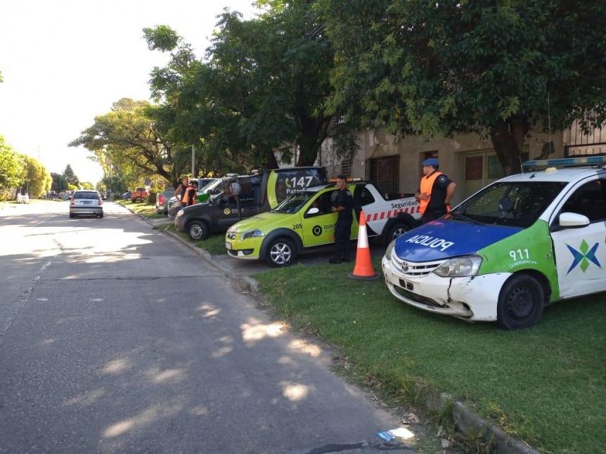 Contin�an los operativos de control vehicular en Quilmes