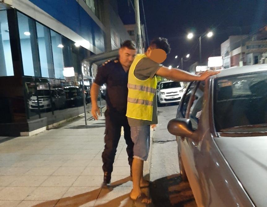 Trapito arrestado acusado de robar un auto que ten�a a su cuidado