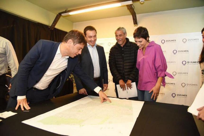 Mendoza y Kicillof encabezaron reuni�n del Comit� de arroyos