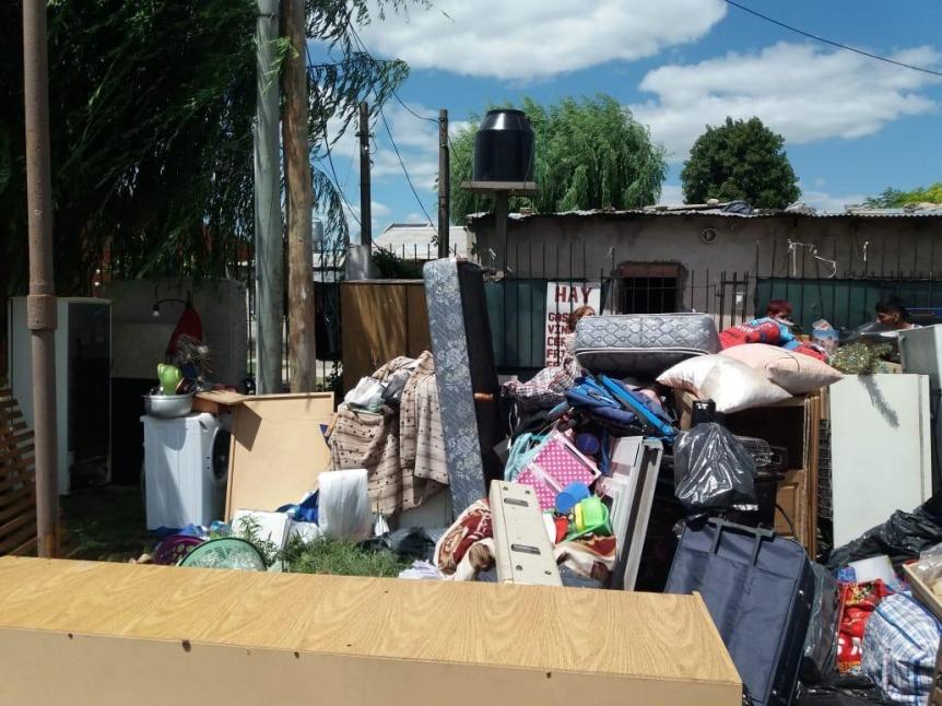 Violento intento de usurpaci�n a una vivienda de Quilmes Oeste