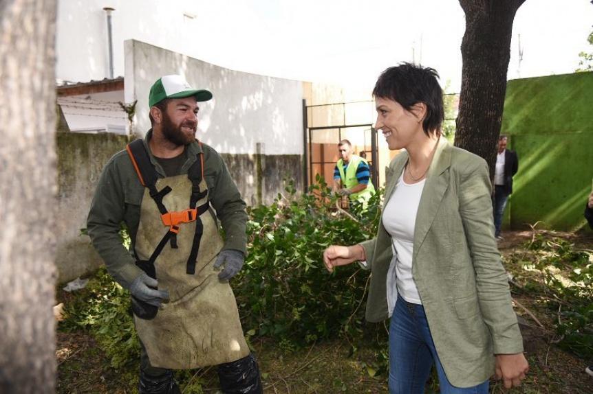 El Municipio realiz� un nuevo operativo integral de limpieza en Quilmes Oeste