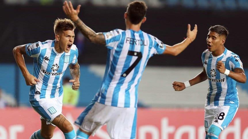 Racing derrot� a Alianza Lima y sigue a paso firme en la copa