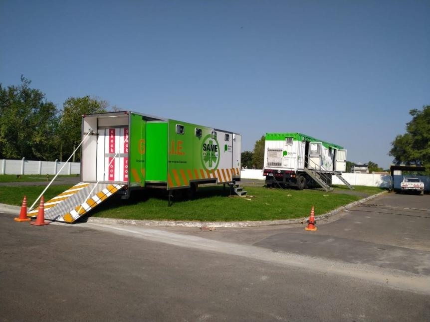 Refuerzan con 20 unidades sanitarias móviles la atención de los hospitales provinciales