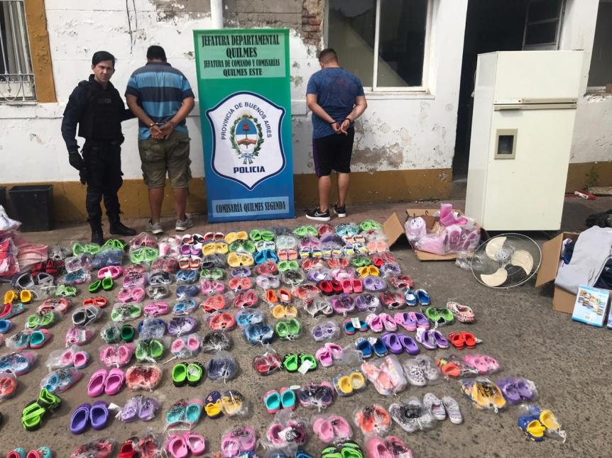 Robaron el calzado destinado a chicos de Villa Itat� de la planta recicladora