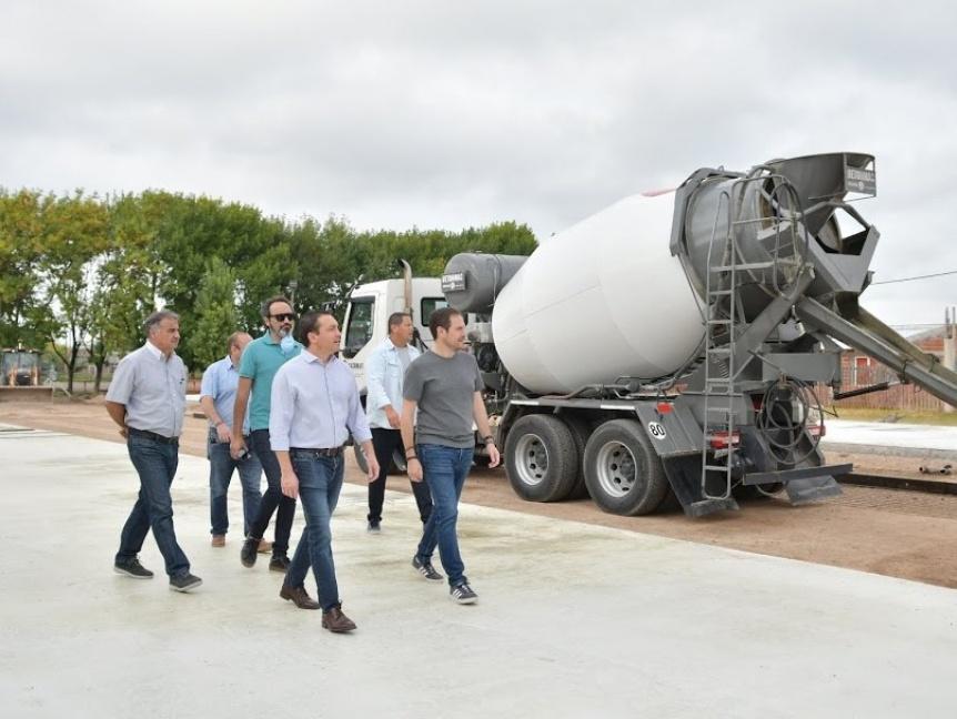 Hospital Modular de Varela: Finalizan la edificaci�n de la platea de hormig�n