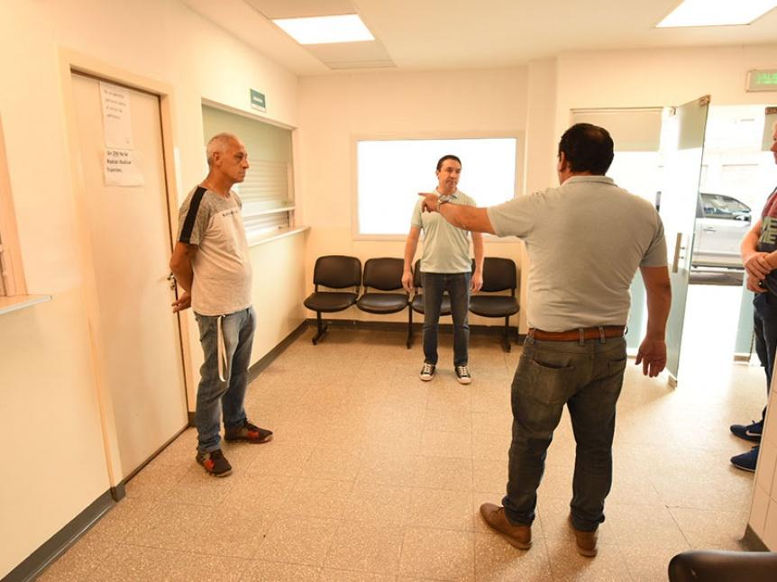 Varela: Acondicionan centros de salud para posibles contingencias