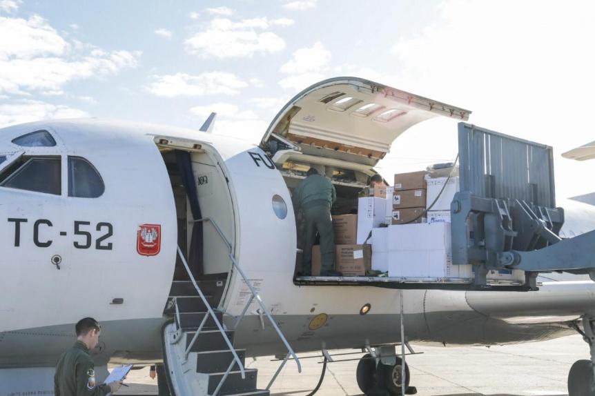 Nación entregó 153 nuevos respiradores, 40 ecógrafos y 190 mil equipos de protección personal