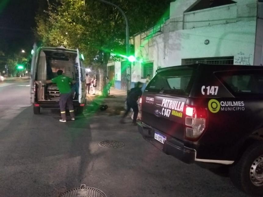 Conductor atropelló y mató a un joven motociclista en Bernal centro