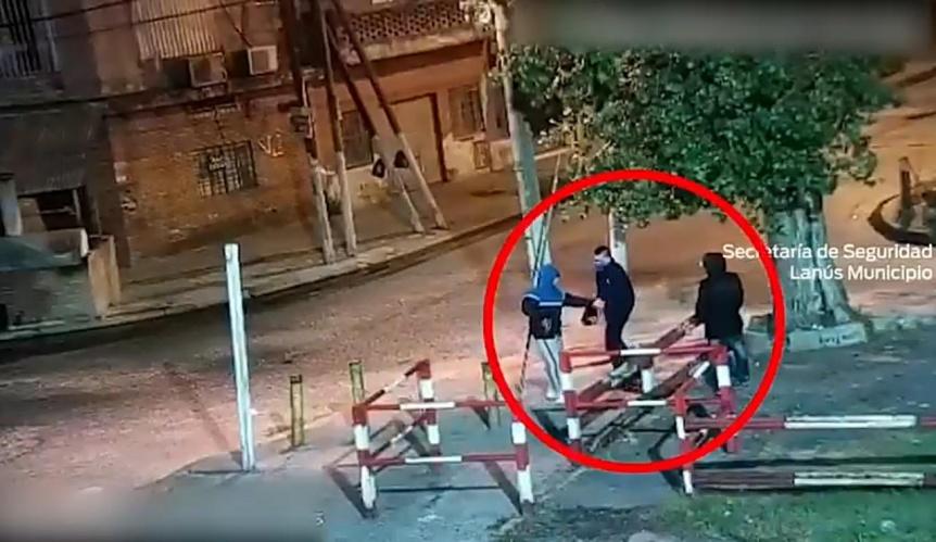 Persecución, enfrentamiento armado y detención en Lanús Oeste