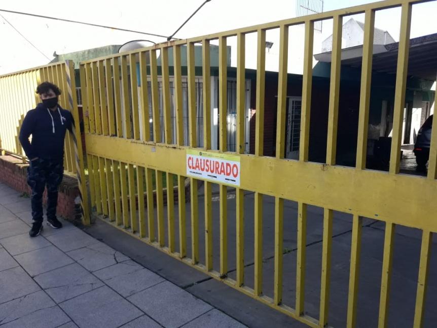 Clausuras e infracciones a comercios no esenciales que estaban abiertos al p�blico