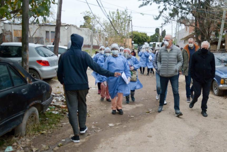Goll�n confirm� que en Villa Azul ya son 92 los casos de COVID-19
