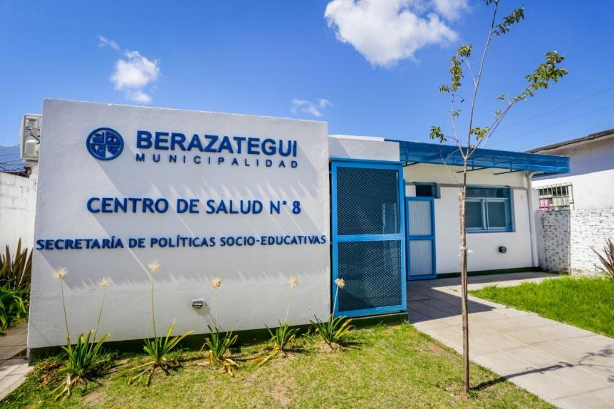 Berazategui: El Centro de Salud N� 8 brinda servicios en cuarentena