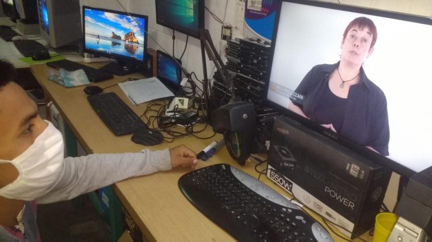 Implementan capacitaciones virtuales para personas privadas de libertad