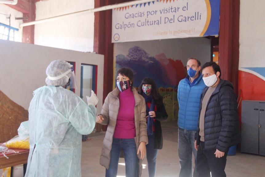 Mendoza encabez� los operativos DETeCTAr y Cuidarnos en Villa El Monte