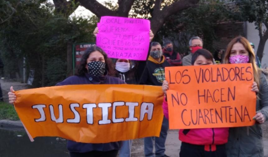 Amenazaron a los familiares de la docente violada en Florencio Varela