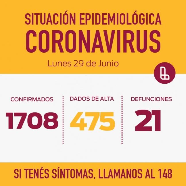 Lan�s reporta 71 nuevos casos positivos de COVID y un fallecido