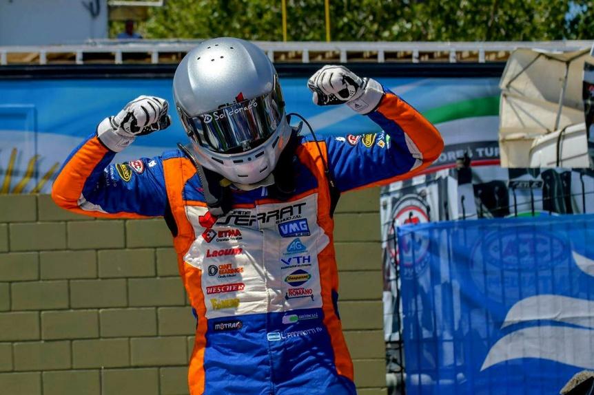 El quilmeño Lucas Panarotti obtuvo su primer triunfo en la categoría