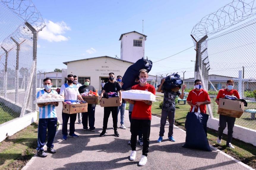 Cruzada solidaria  de un detenido con domiciliaria y sus excompañeros de cárcel