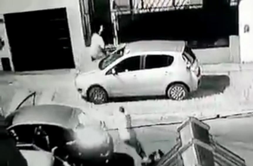 Violenta entradera a una familia en Don Bosco: Les gatillaron en la cabeza