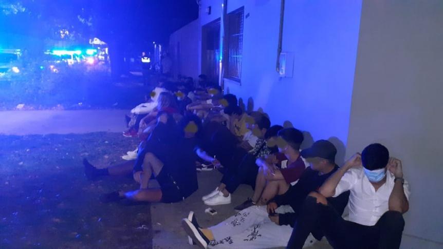 El Municipio de Quilmes desactivó 6 fiestas clandestinas y clausuró locales