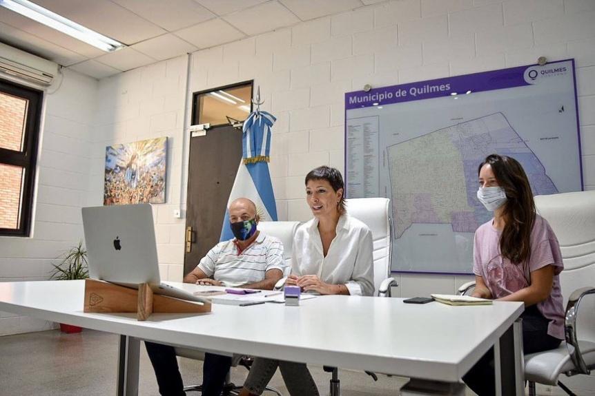 Firmaron convenio para el mantenimiento del Acceso Sudeste