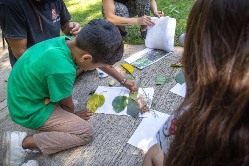 Jornada recreativa con enfoque de derechos para niños en el Museo del Transporte