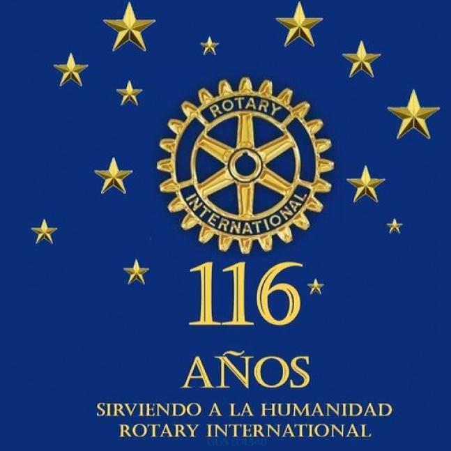 Rotary Internacional celebra su 116º aniversario