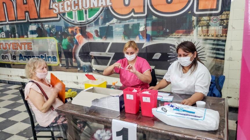 Nueva etapa de vacunación contra el COVID-19 en Berazategui