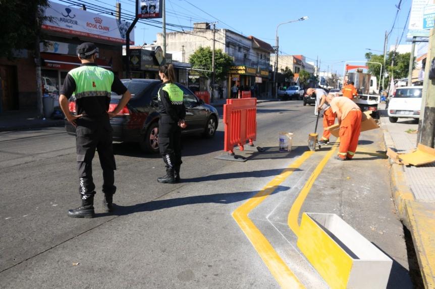 Lanús intensifica tareas para reforzar la seguridad vial