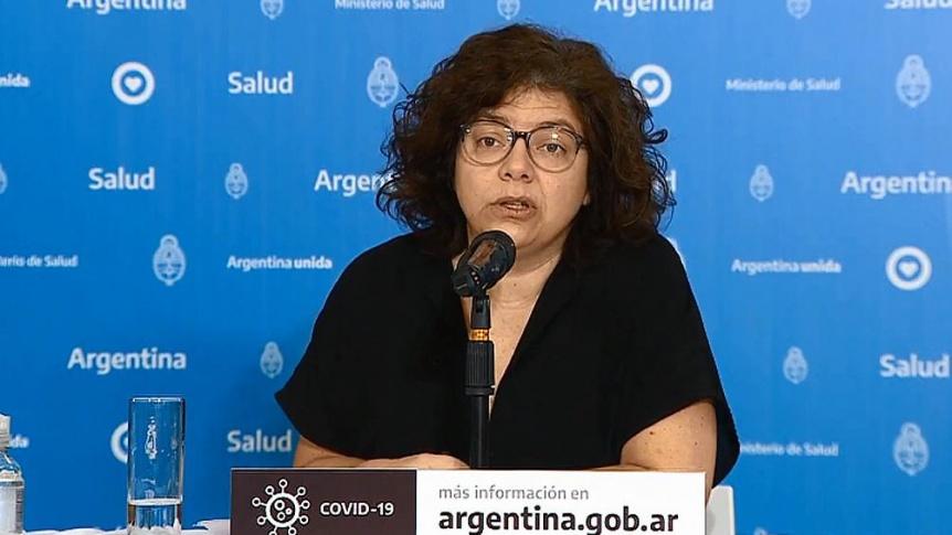 La ministra Vizzotti tiene coronavirus y fue aislada