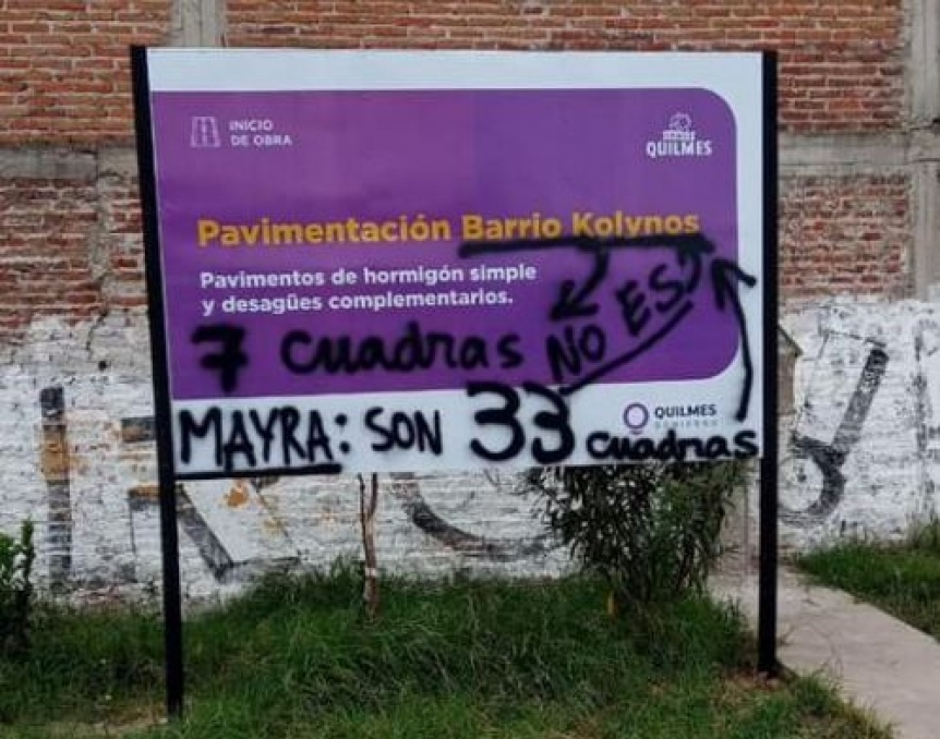 """Funcionario denostó reclamo en barrio Kolynos: """"Son militantes de la oposición"""""""
